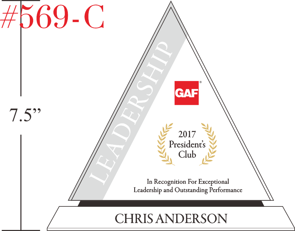 President's Club Sales Achiever Award Ideas
