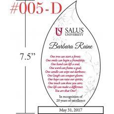 Employee Milestone Recognition Poem