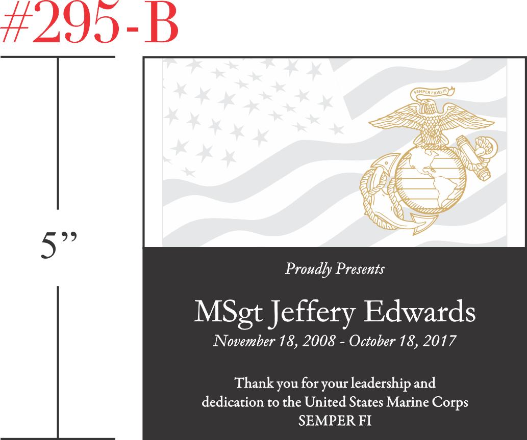Marines Appreciation Gift