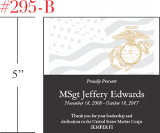 Marines Appreciation Gift