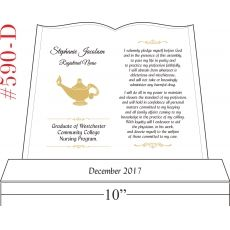 Nurse Graduation Gift Plaque