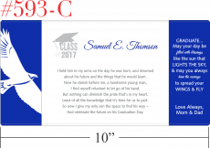 Graduation Gift Plaque for Boys