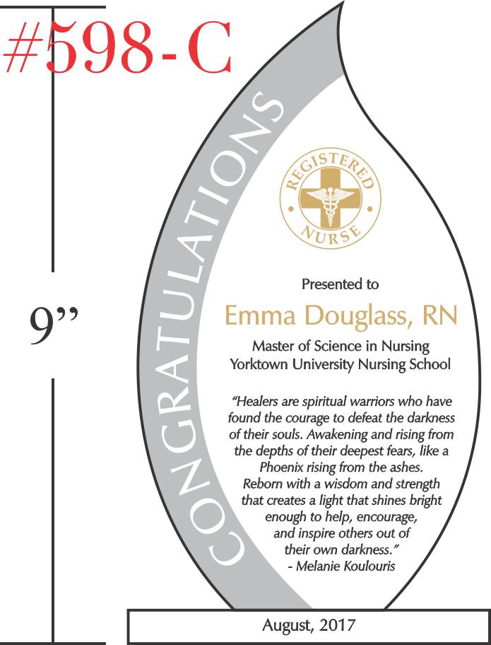 Registered Nurse Graduation Quote Gift