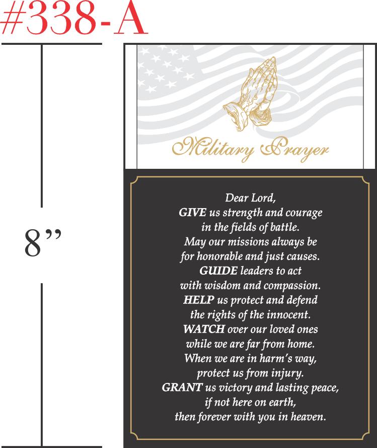 Military Prayer Gift