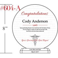 Medical School Graduation Wishes for Son