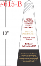Sample Pastor Birthday Bible Verse