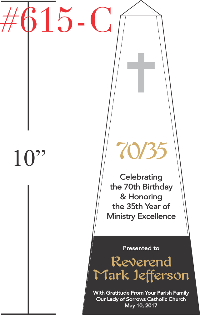 Pastoral Anniversary and Birthday Gifts