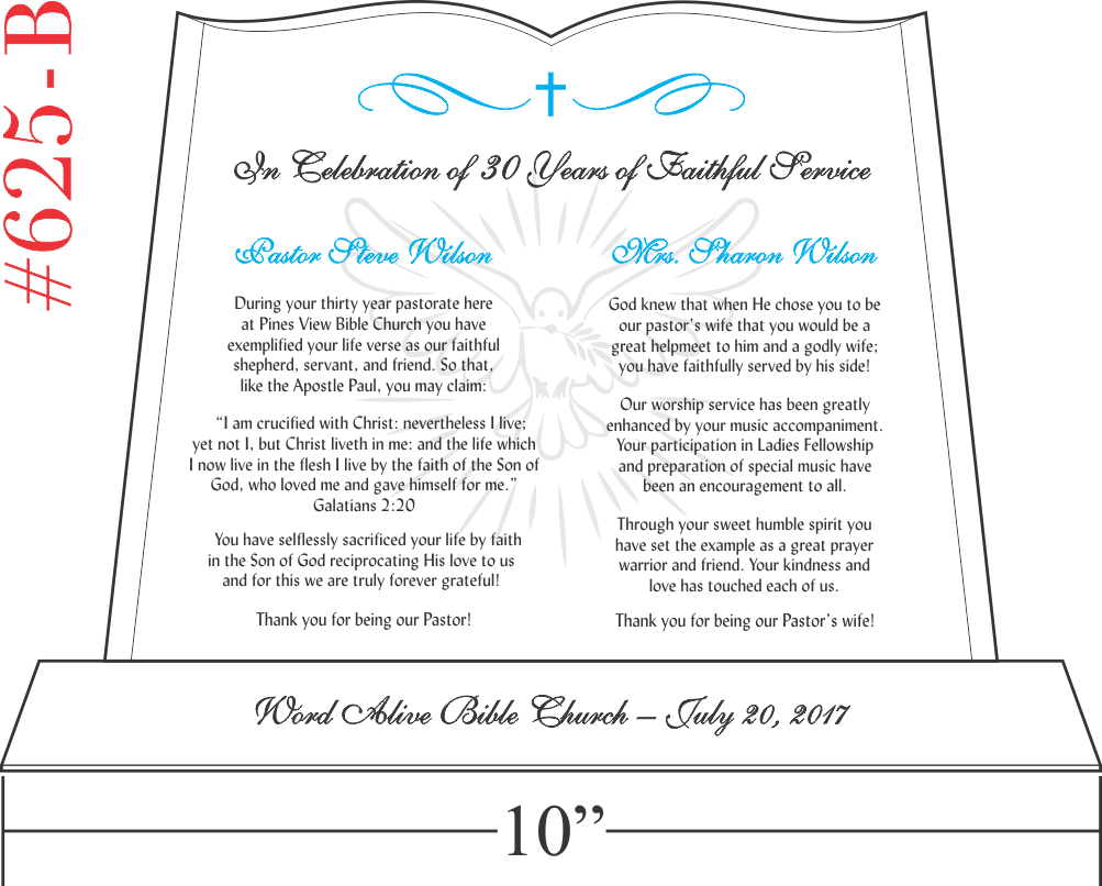 Pastor and Wife Anniversary Scriptures