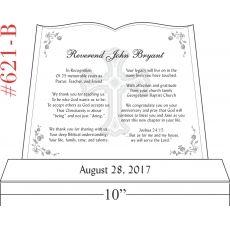 Pastor Silver Jubilee Anniversary Gift (#621-B)