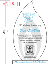 10th Ministry Anniversary Gift for Priest
