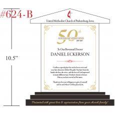 50th Anniv. Appreciation Plaque for Priest - Wording ...