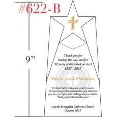 Pastor 30 Years Anniversary Appreciation Plaque
