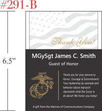 Marine Thank You Gift
