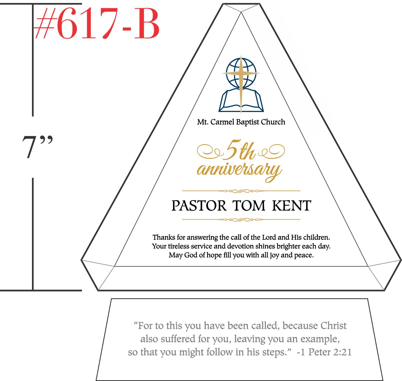 Sample Scriptures for Pastoral Anniversary
