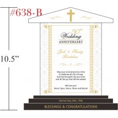 Christian 50th Anniversary Gift for Mom & Dad