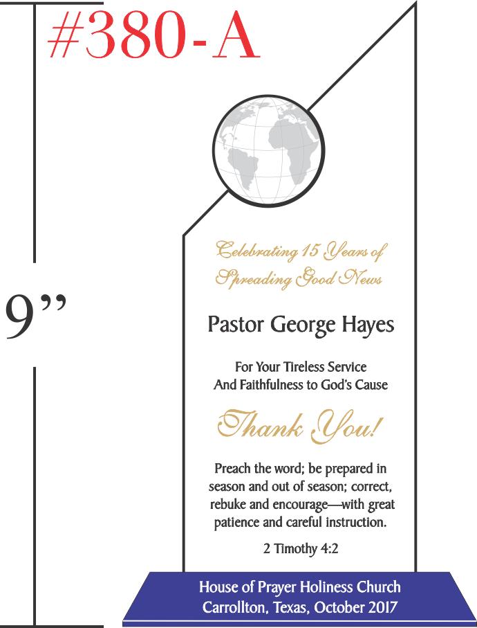 Thank You Pastor Gift