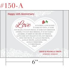10th Anniversary Gift for Couple