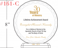 Ministry Service Achievement Gift