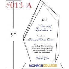 excellence award wording