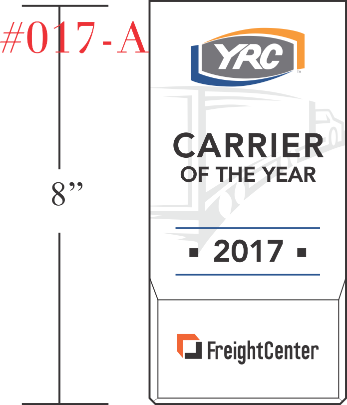 Carrier of the Year Safety Award