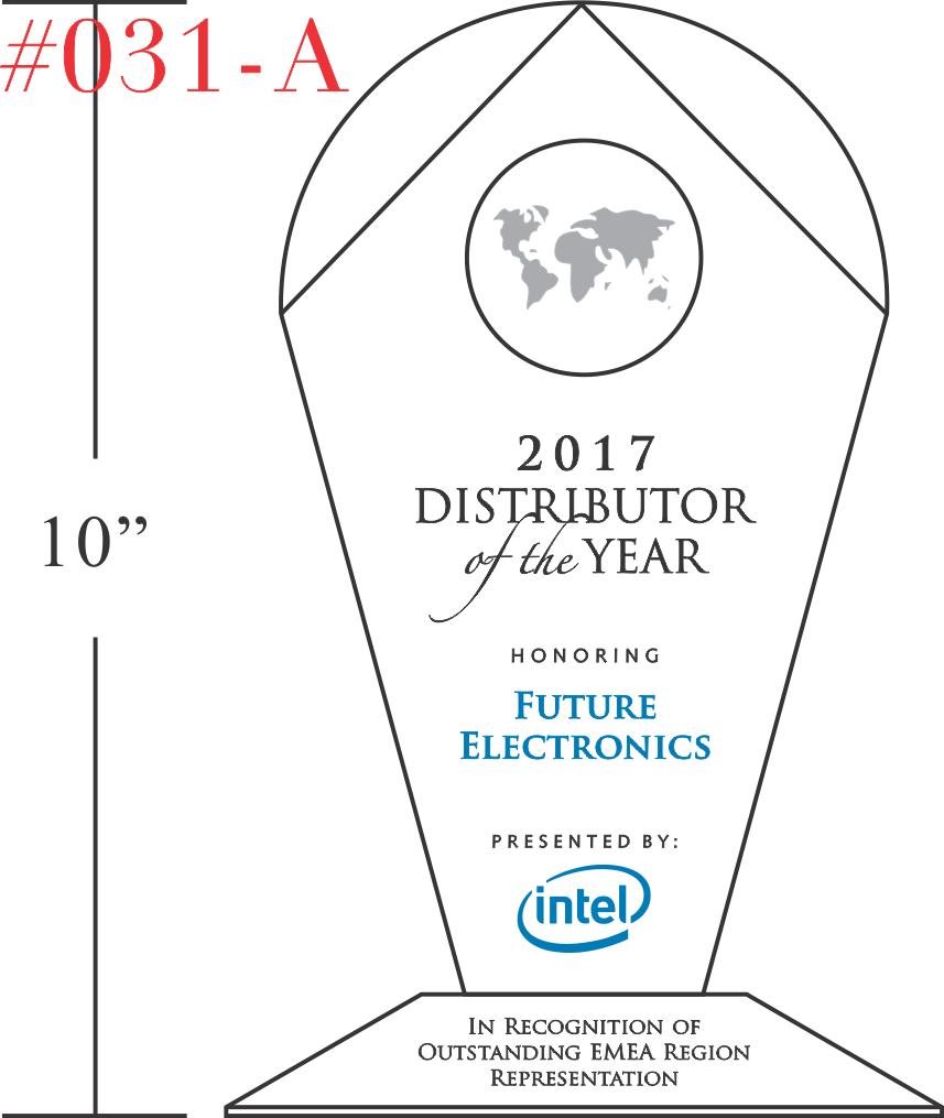 Outstanding Distributor Performance Award