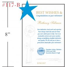 Best Wishes for Retiring Union Member