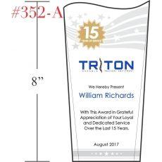 15 Year Staff Service Award
