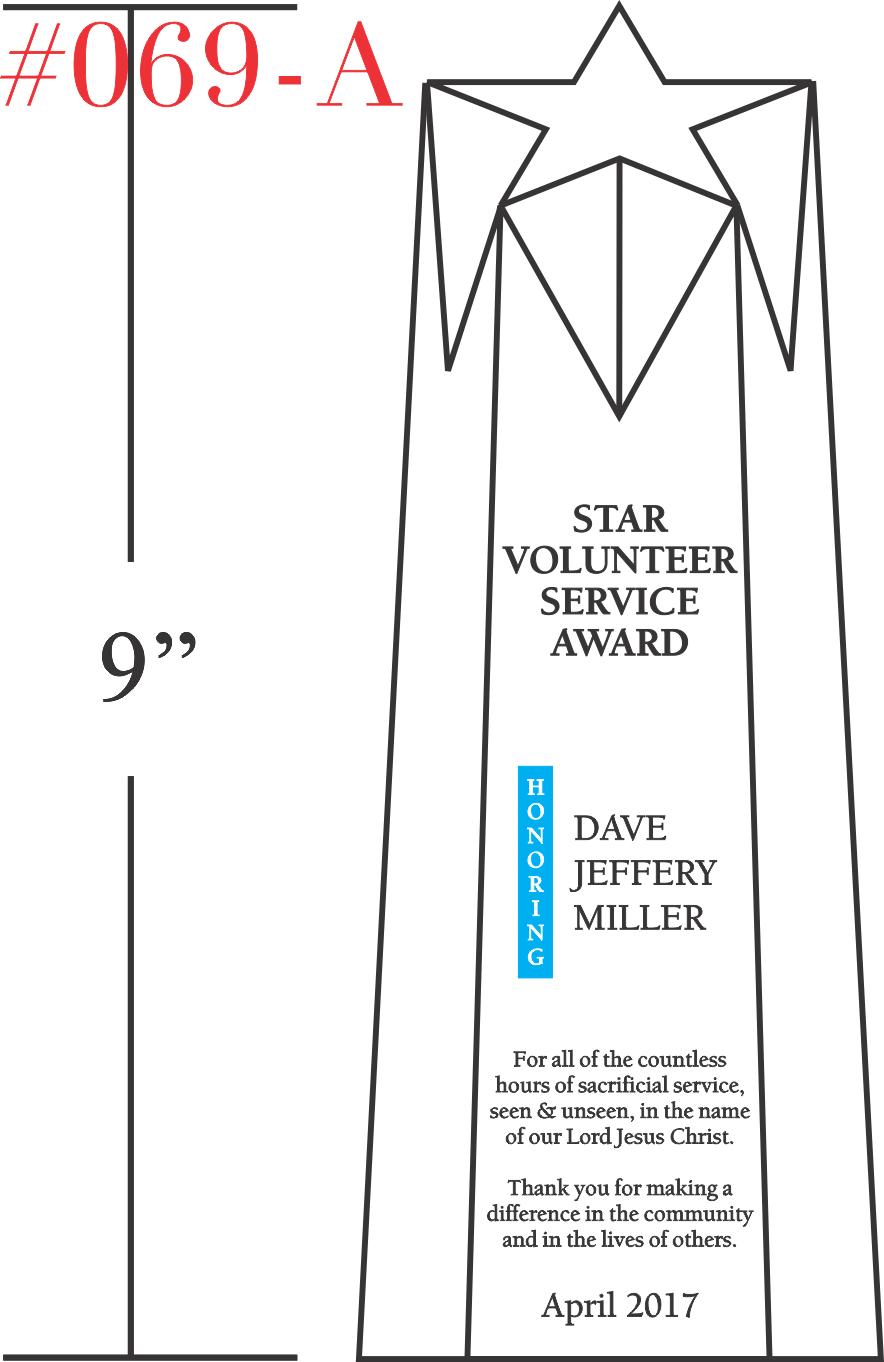 Star Volunteer Recognition Award