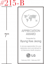 World of Appreciation Award