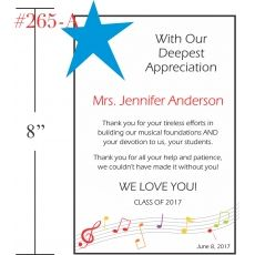 Music Teacher Appreciation Gift