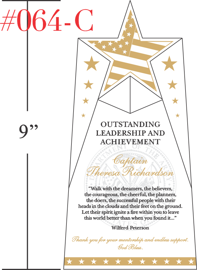 Outstanding Leadership and Achievement Award