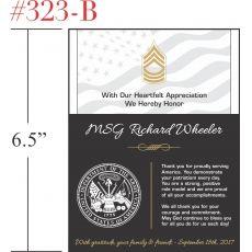 Army Soldier Appreciation Award