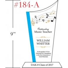 Outstanding Music Teacher Gift