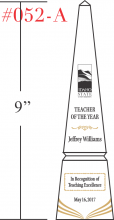 Teacher of the Year Award Tower