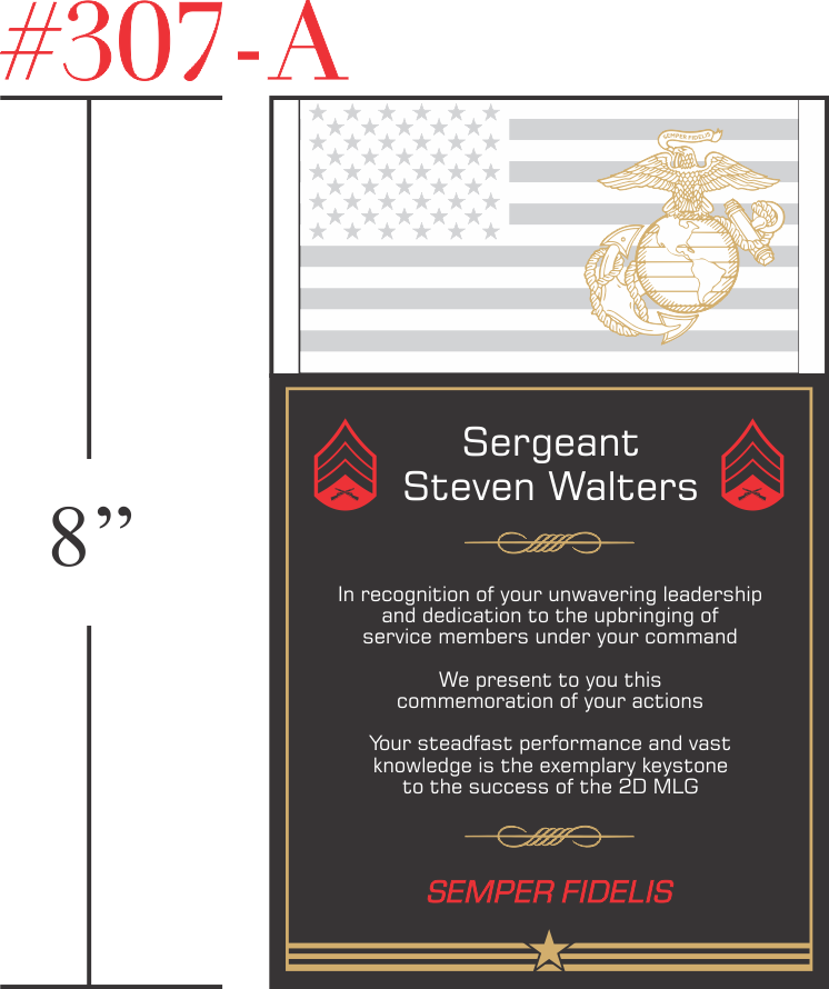 USMC Service Recognition Gift
