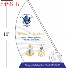 USCG Retirement Sailboat