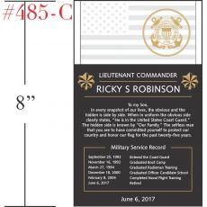 USCG Service Retirement Plaque