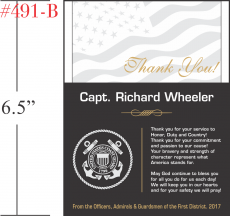 USCG Appreciation Plaque