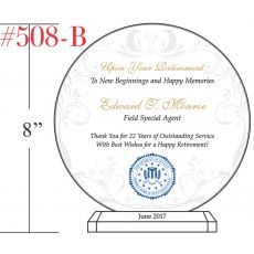 FBI Agent Retirement Plaque