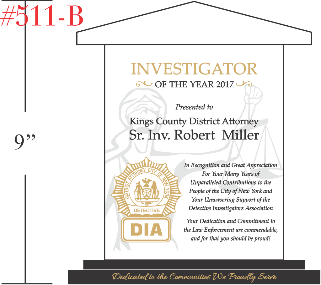 Investigator of the Year Award