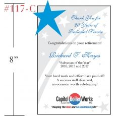 Gift to Celebrate Retiring Employee