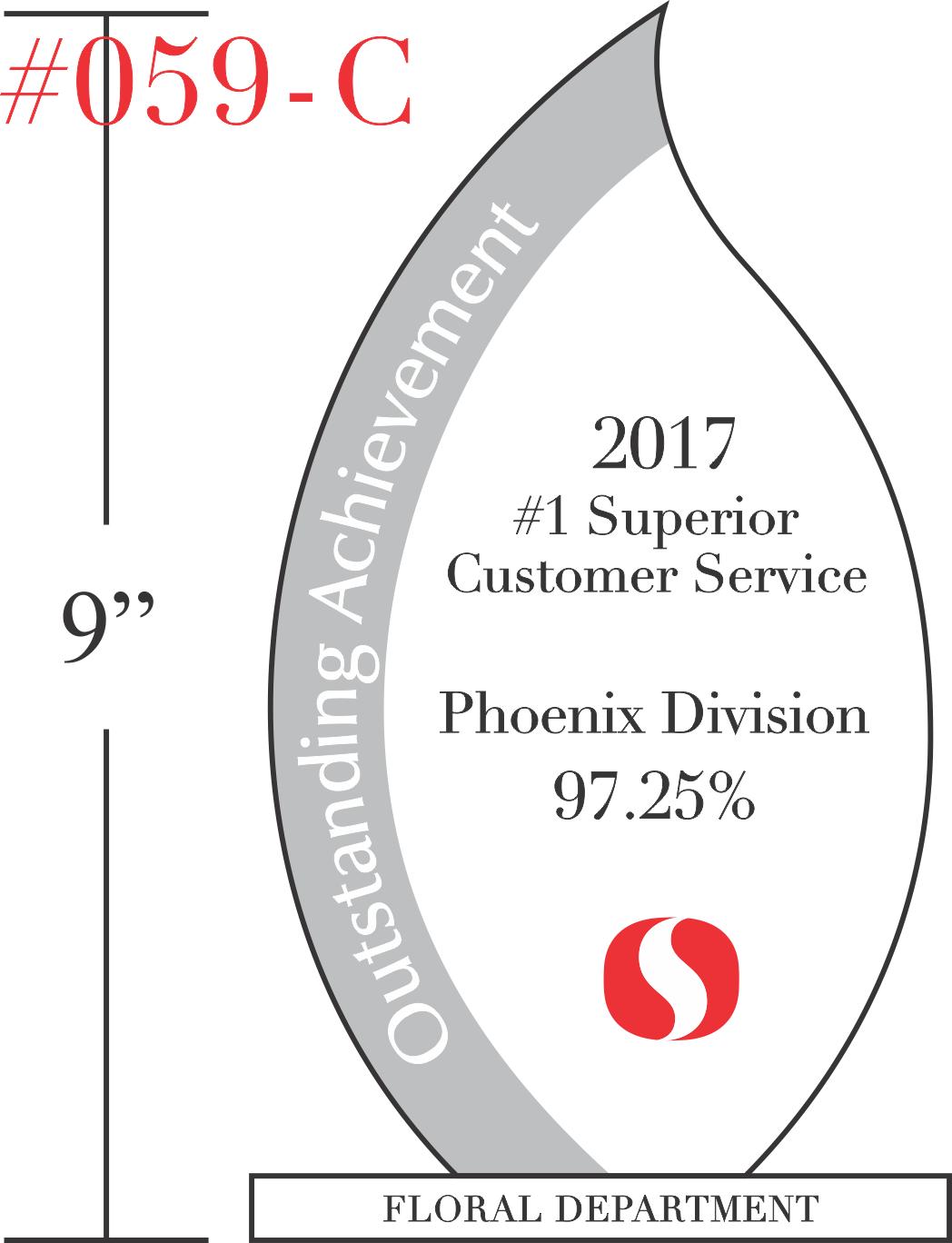 Customer Service Achievement Award