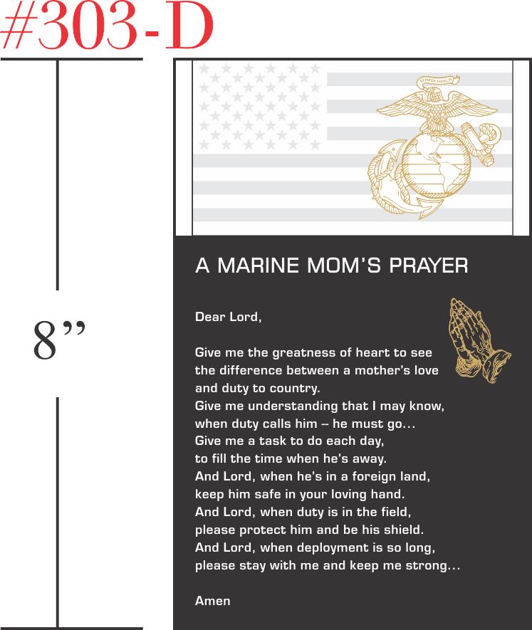 The Marine Mom's Prayer Gift