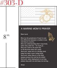 The Marine Mom's Prayer Gift