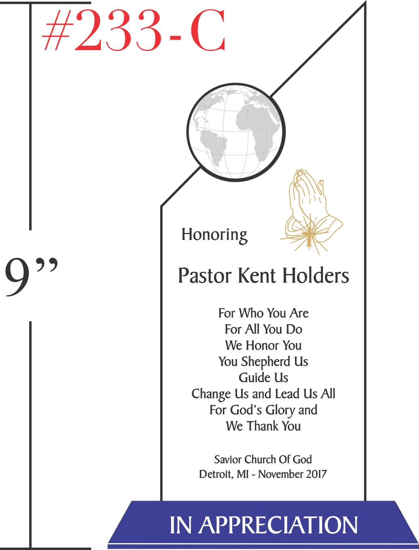 Appreciation Gift for Church Pastor
