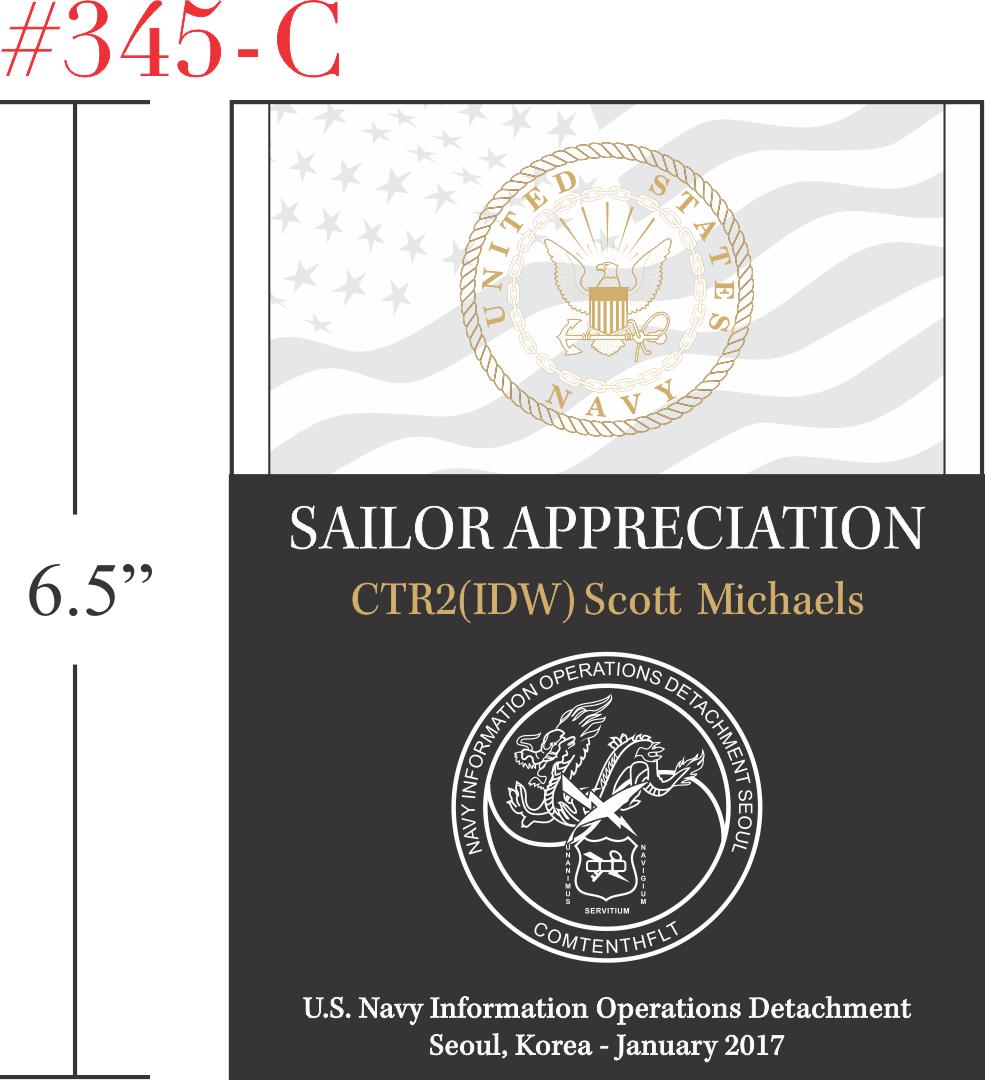 Sailor Military Appreciation Gift