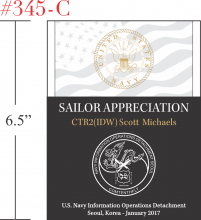Sailor Military Appreciation Gift