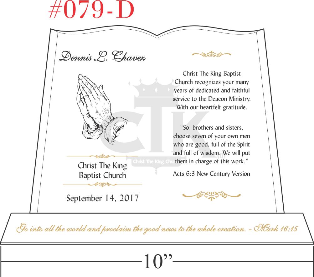 Appreciation Gift for Deacon Ministry