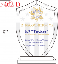 Police K9 Recognition Gift