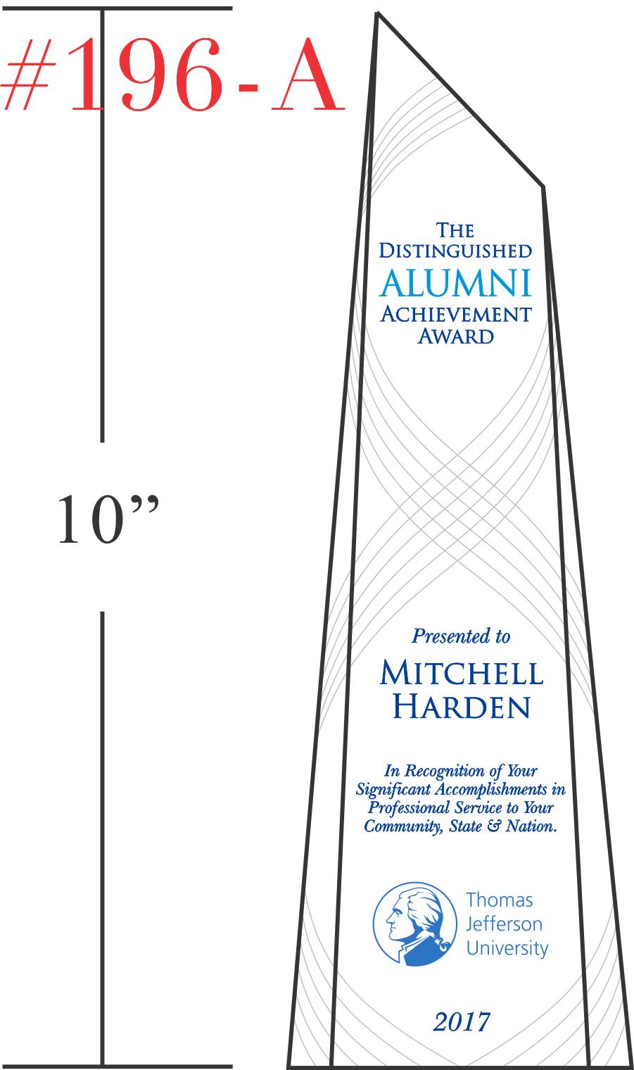 Distinguished Alumni Achievement Award